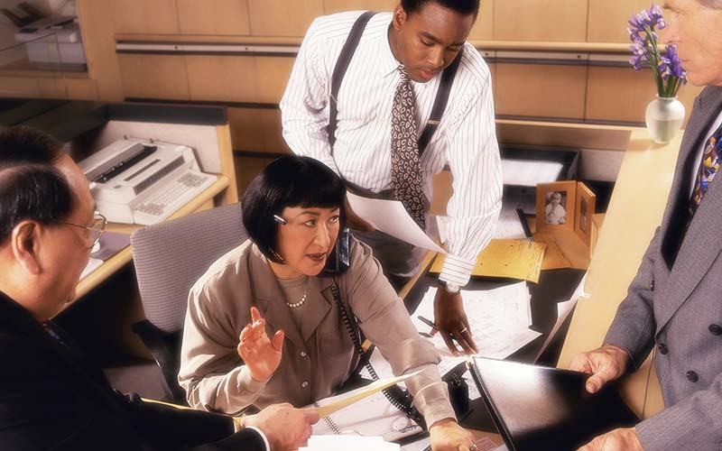 Leadership Initiatives: office operations improvements